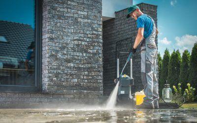 concrete cleaning kansas city