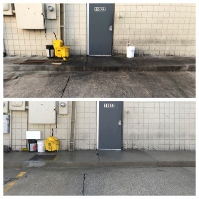 concrete power washer