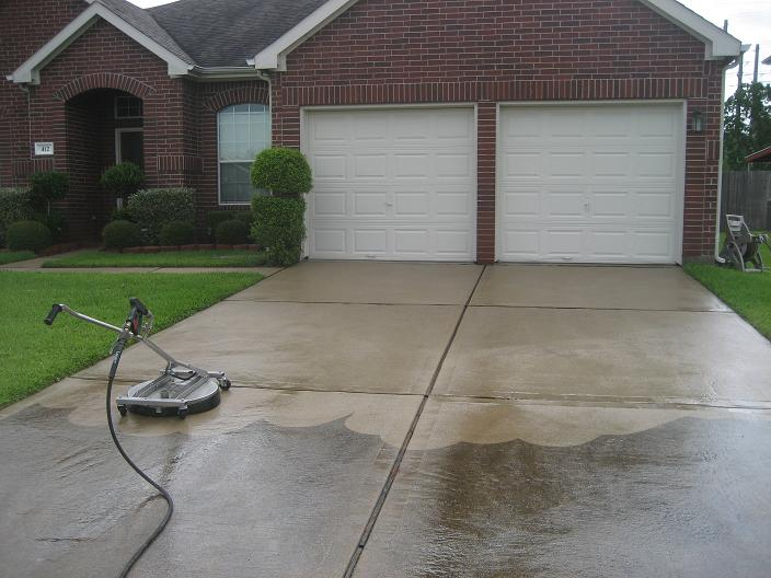 driveway cleaning power washing overland park ks