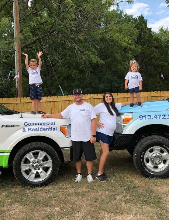 family owned pressure washing company
