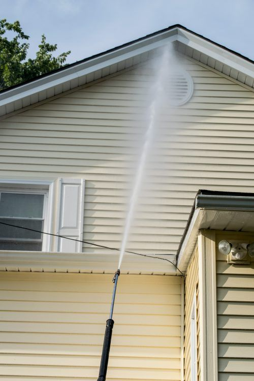 low pressure house washing overland park KS