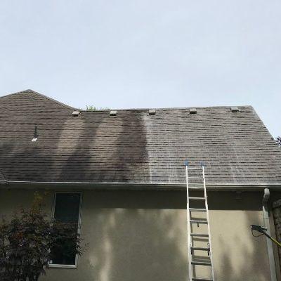 roof washing company kansas city